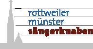 Rottweiler Münstersängerknaben