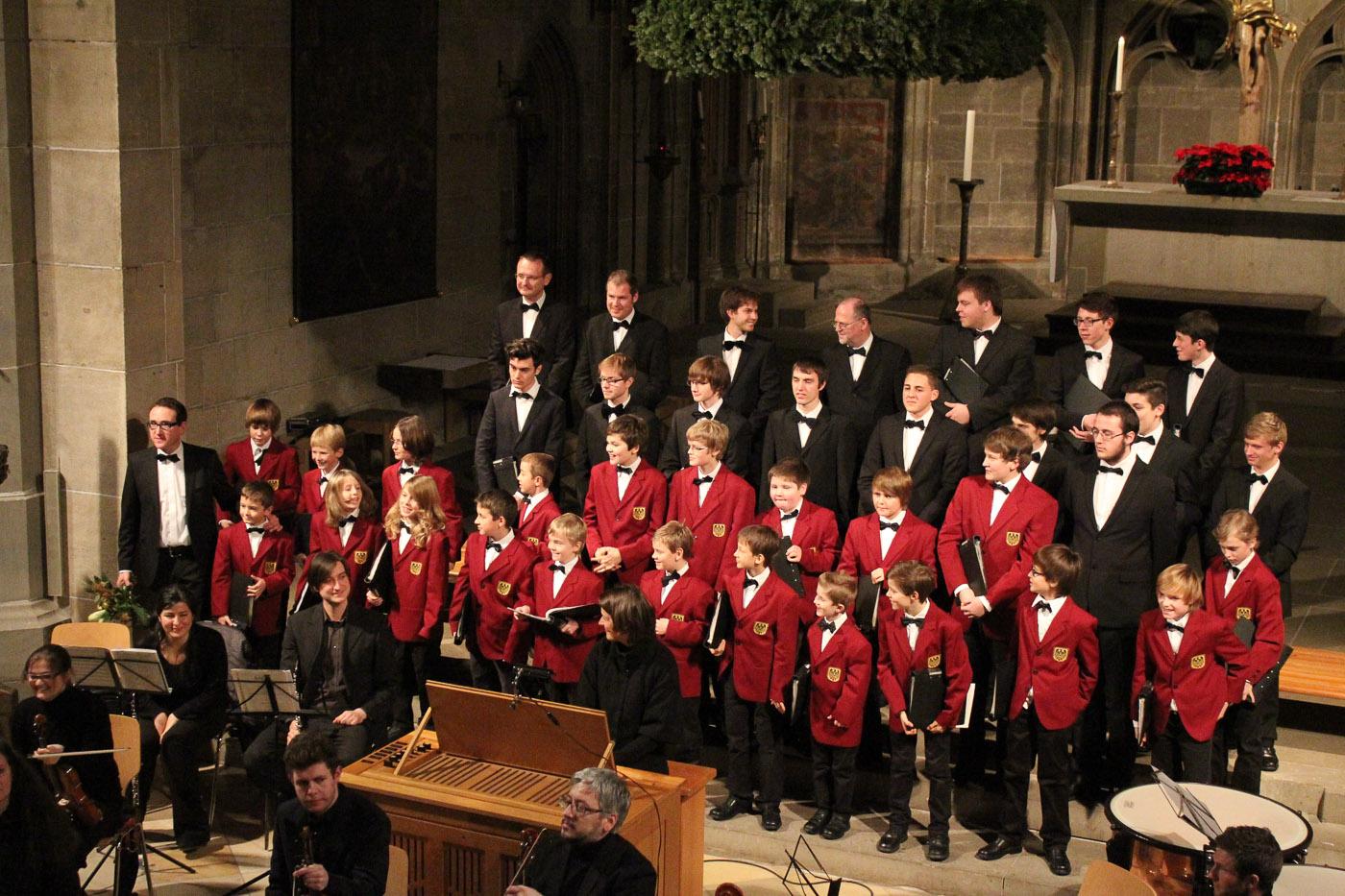 Probe/Konzert Dezember 2012